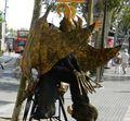 artisti di strada - mimi - barcellona