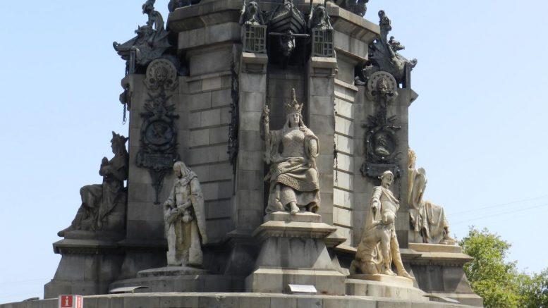 Monumento di Cristoforo Colombo in Barcellona