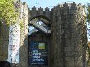 le mura di avila -pueblo espanol - barcellona - montjuic