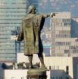 statua di cristoforo colombo a barcellona