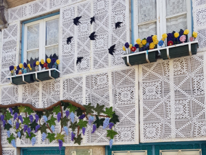 Casa rivestita di merletti in Vila Nova de Cerveira