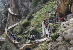 El Caminito del Rey oggi è sicuro, spettacolare ed agibile per i turisti.