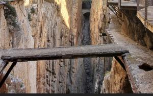 El Caminito del Rey è stato per molto tempo considerato uno dei sentieri più pericolosi del mondo