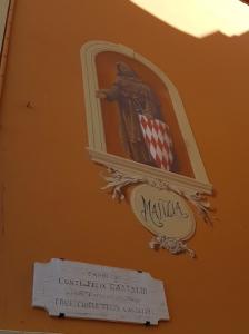 Immagine di Francesco Grimaldi nel quartiere di Monaco Ville - Principato di Monaco