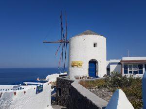 Mulini a vento a Oia - Santorini