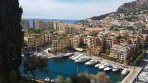 Panoramica che si vede dal quartiere di Monaco Ville