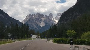Viaggio verso Cortina d'Ampezzo dal comune di Dobbiaco