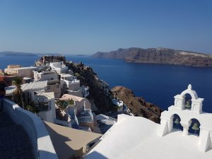 Vista di Oia - Santorini - Grecia