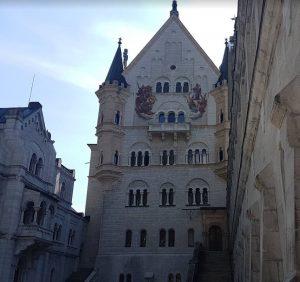 Atrio del castello di Neuschwanstein