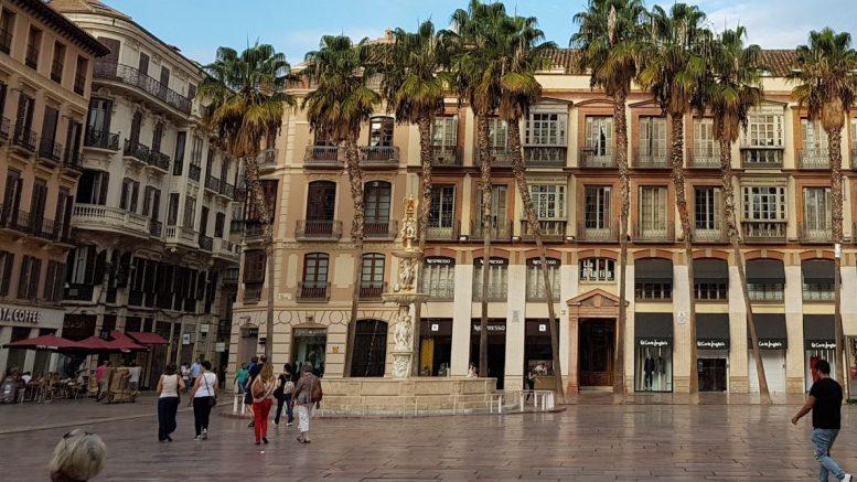 Malaga, piazza della Costituzione