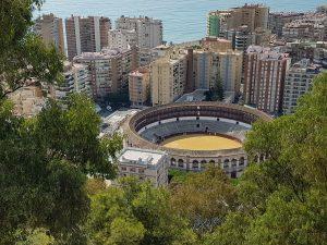 Plaza de toros di Malaga