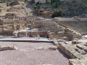 Rovine del teatro romano di Malaga