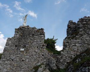 Statua Arcangelo Michele - Preta re lo Piesco - Frigento (Avellino)