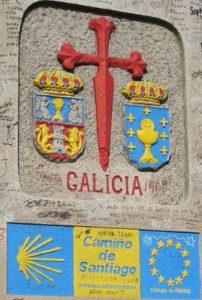 Ingresso in Galizia lungo il Cammino di Santiago de Compostela