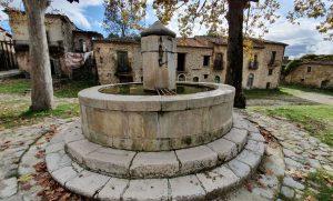 Fontana di Roscigno Vecchia, simbolo del centro storico