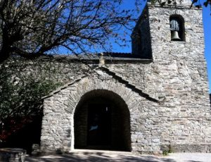 Ingresso chiesa – santuario dedicata a Santa Maria la Real - O Cebreiro