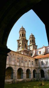 Interno del monastero di Sobrado dos Monxes