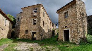 L'antico passaggio in Roscigno Vecchia della Trazzera degli Stranieri o Via del Pellegrino