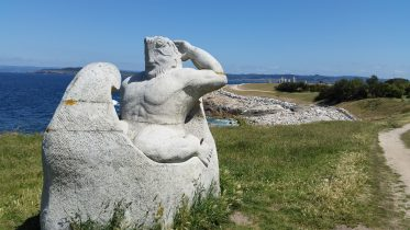 Parco scultoreo della Torre di Hércules - A Coruña
