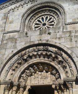 Particolare della Collegiata di Santa Maria del Campo - La Coruña