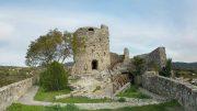 Resti del castello di Rocca San Felice in Irpinia
