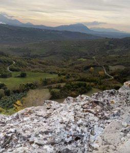 Vista dalla rocca di Rocca San Felice