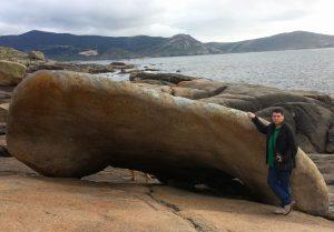 Pedra dos Cadrís o pedra de los riñones - Masso magico di Muxía
