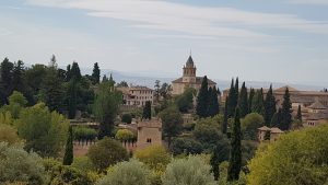 Panorama dell' Alhambra