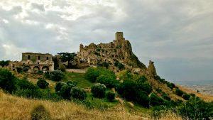 Panorama di Craco Vecchia (Matera)