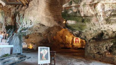 Grotta dell'Angelo nel comune di Sant'Angelo a Fasanella