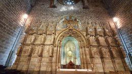 Particolare della cappella del Santo Graal di Valencia