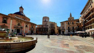 Piazza della Vergine - Valencia - Spagna
