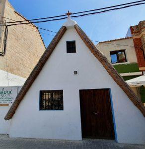Tipica costruzione dove abitano i contadini ed i pescatori dell'Albufera