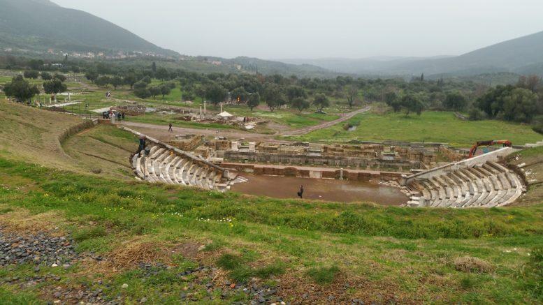 Antico teatro di Messene