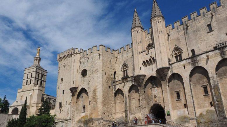 Palazzo dei Papi di Avignone - Francia